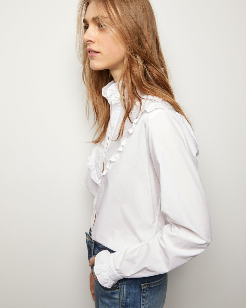 Marcela Shirt White