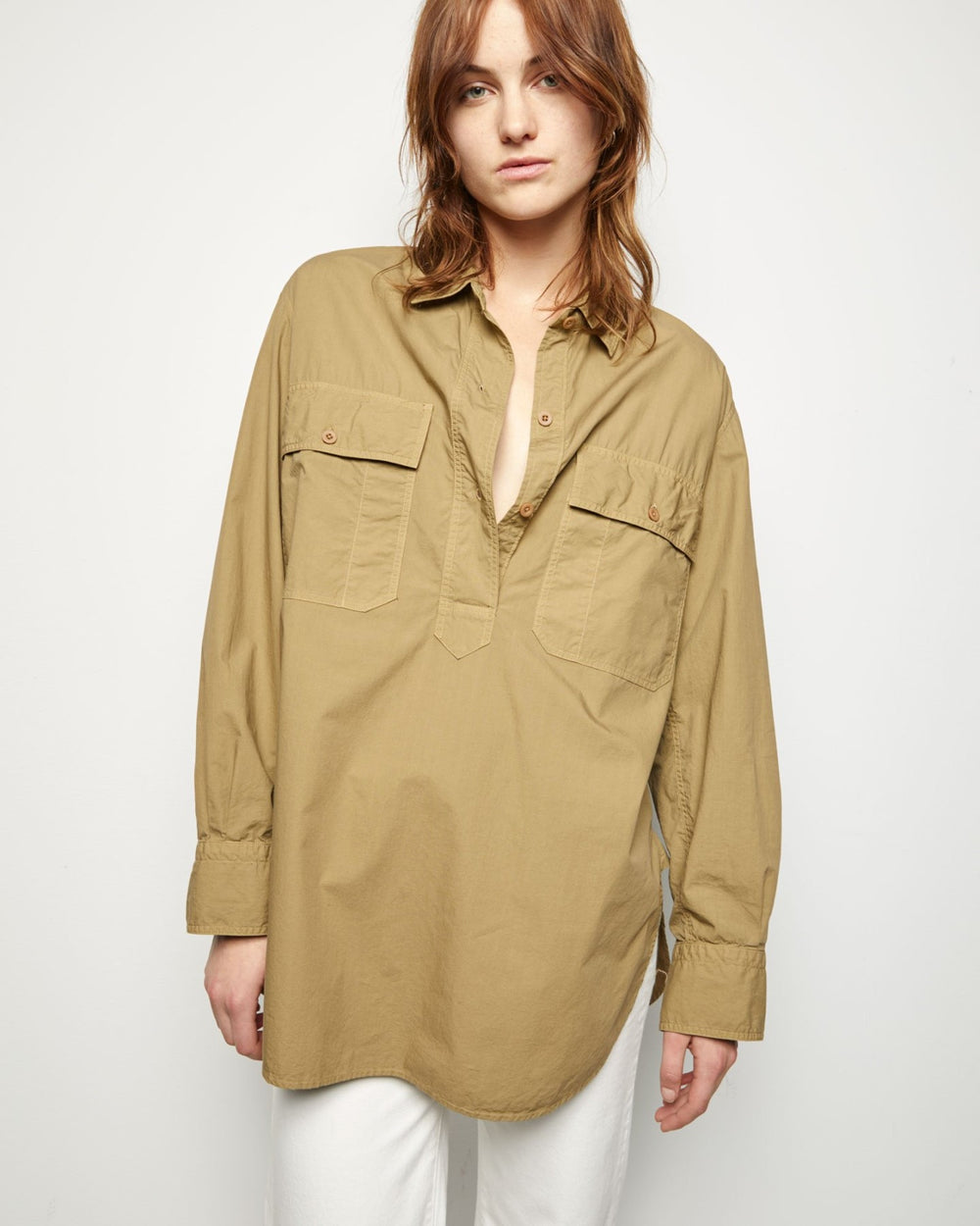 Shae Shirt Moss Green