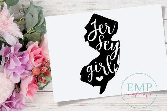 Jersey Girl Decal