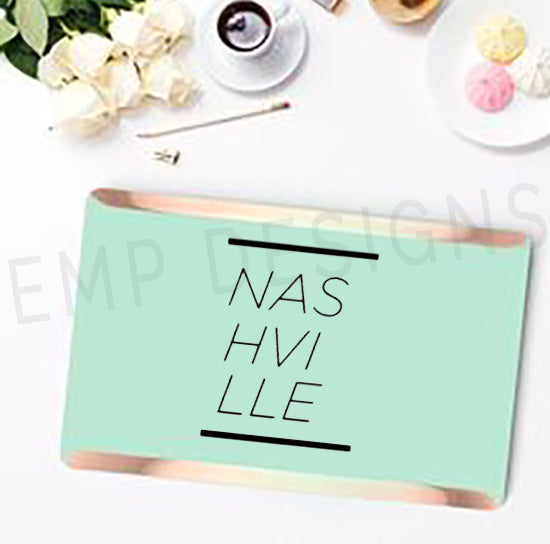Nashville Laptop Decal - EMP VINYL DESIGNS