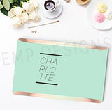 Charlotte Laptop Decal - EMP VINYL DESIGNS