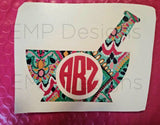 Pharmacist Monogram Decal