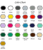Dog Treats Decal Color Chart