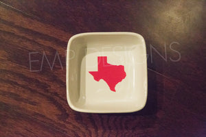 Texas Jewelry Dish - EMP VINYL DESIGNS