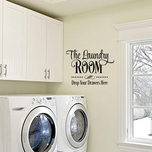 Laundry Room Wall Decal - EMP VINYL DESIGNS