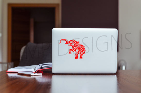 Elephant Decal - EMP VINYL DESIGNS