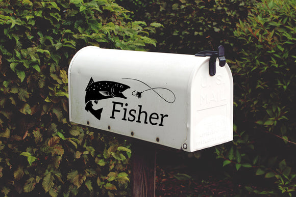 Mailbox Decal - EMP VINYL DESIGNS