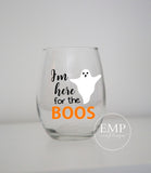 I'm here for the Boos Wine Glass - EMP VINYL DESIGNS