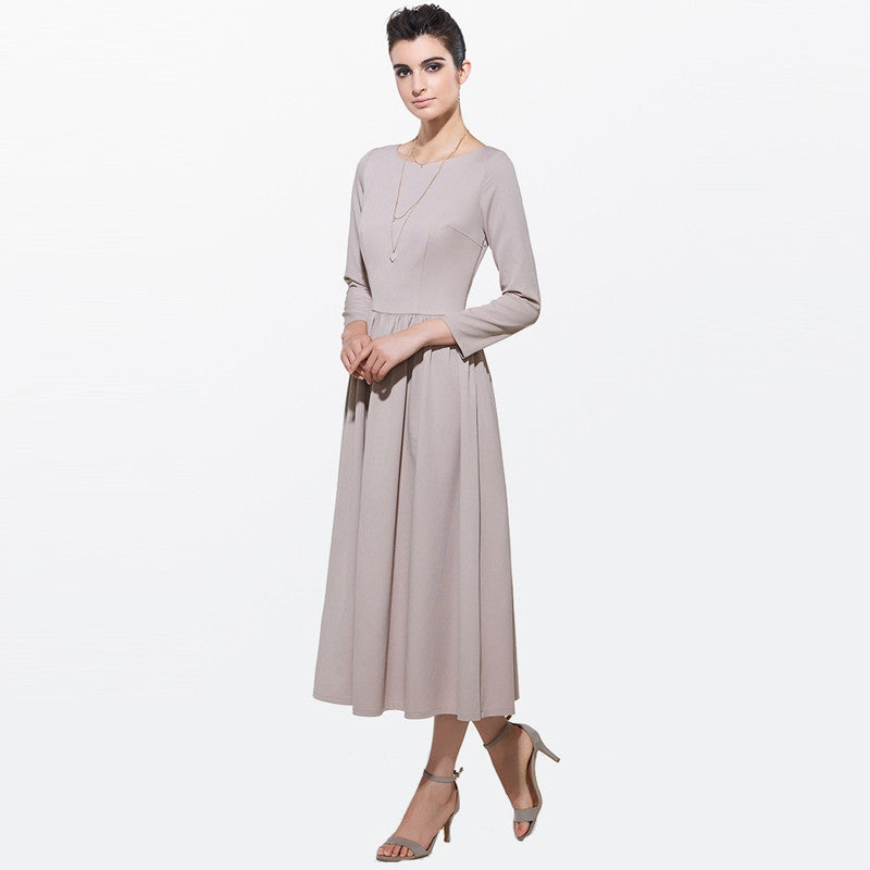 Spring Special Women Khakhi Maxi Dress | Evening special | Party goer favorite | Luxury brand inspired | 2017 Must have | Women special | Uniqueism