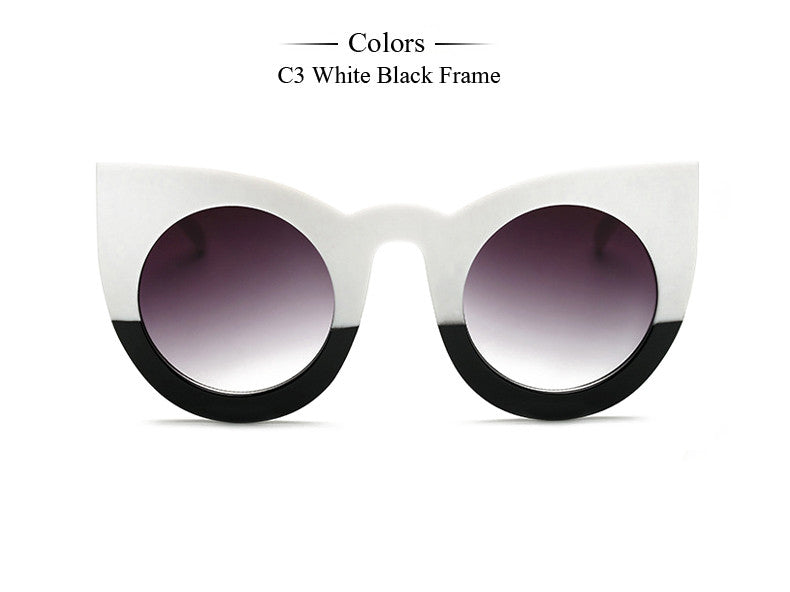 Multicolor Cat eyed sunglass | UV Protection glass | Acelate Frame type | Multi variant | Women special | 2017 Bestseller | Uniqueism