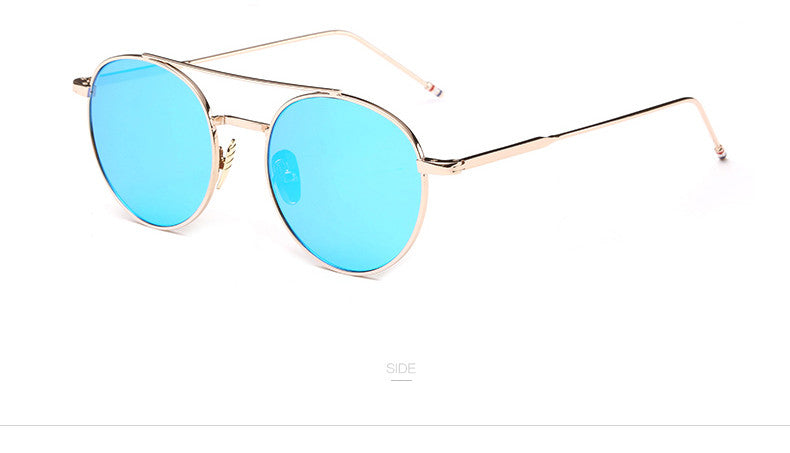 Round type unique sunglass | Luxury Brand | UV400 Protection | Women special | Multi-shade | 2017 Bestseller