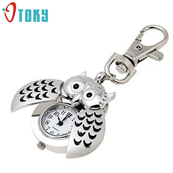 2016 Latest collection, Unique Owl key ring / Key chain, Quartz type, Unisex - For Owl lovers!