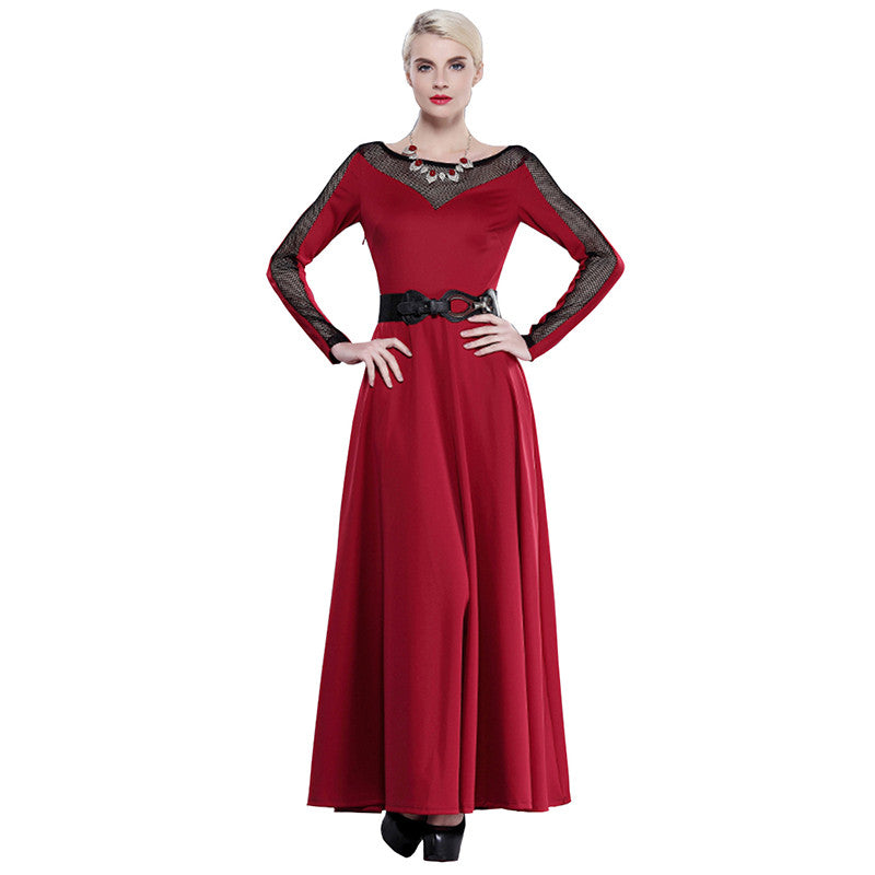 Spring Special Red Women maxi dress | Evening special | Party goer favorite | Luxury brand inspired | 2017 Must have | Women special | Uniqueism