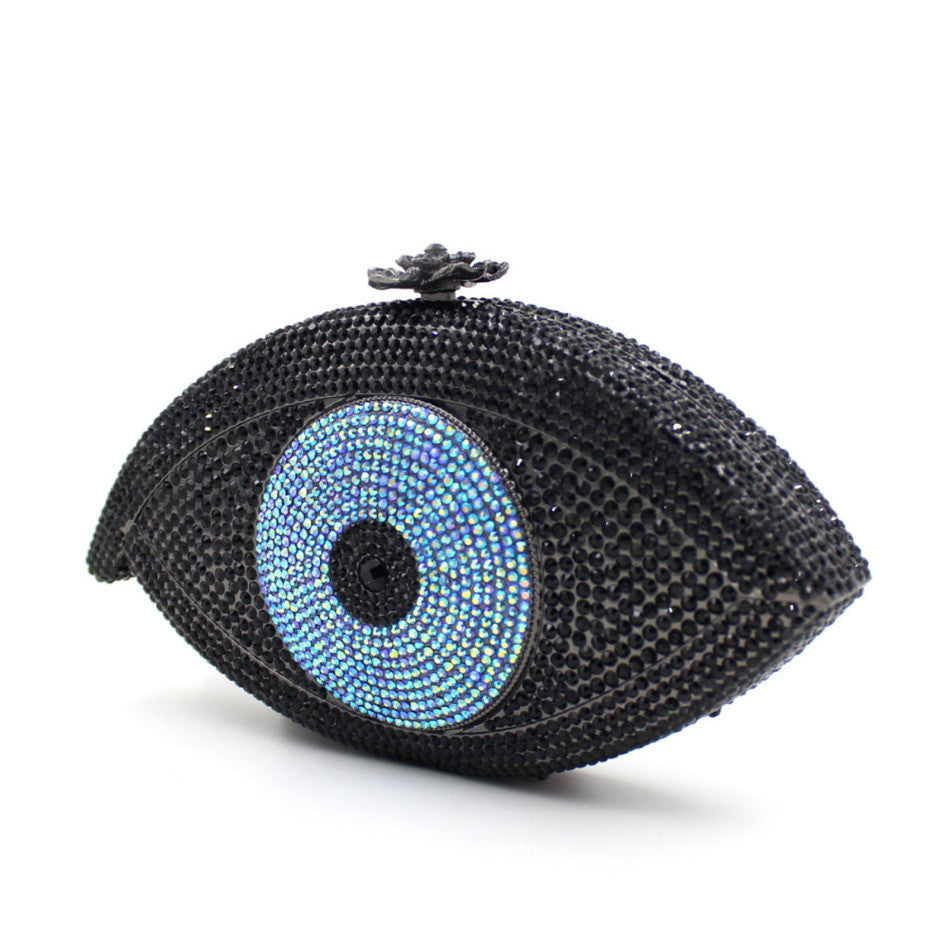 The Evil Eye Shape Multicolored Luxury Clutch Purse | Evening special | Party goer favorite | Luxury brand inspired | 2017 Must have | Women special | Uniqueism