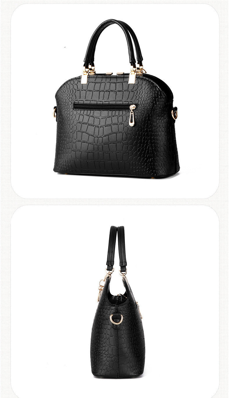 Crocodile Pattern Leather Women Shoulder Bag | Evening special | Party goer favorite | Luxury brand inspired | 2017 Must have | Women special | Uniqueism