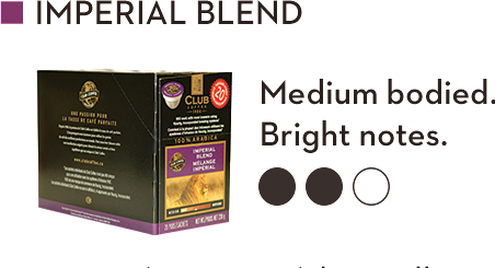 CLUB COFFEE IMPERIAL BLEND (20 Pack)