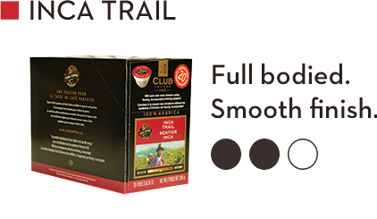 CLUB COFFEE INCA TRAIL (20 Pack)