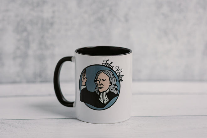 The Wesleyan and Methodist Coffee Mugs
