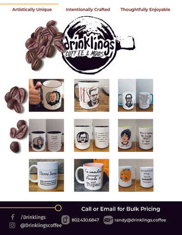 Drinklings Coffee and Mugs