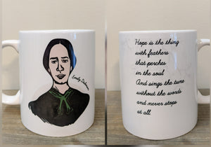 The Emily Dickinson Mug - Drinklings