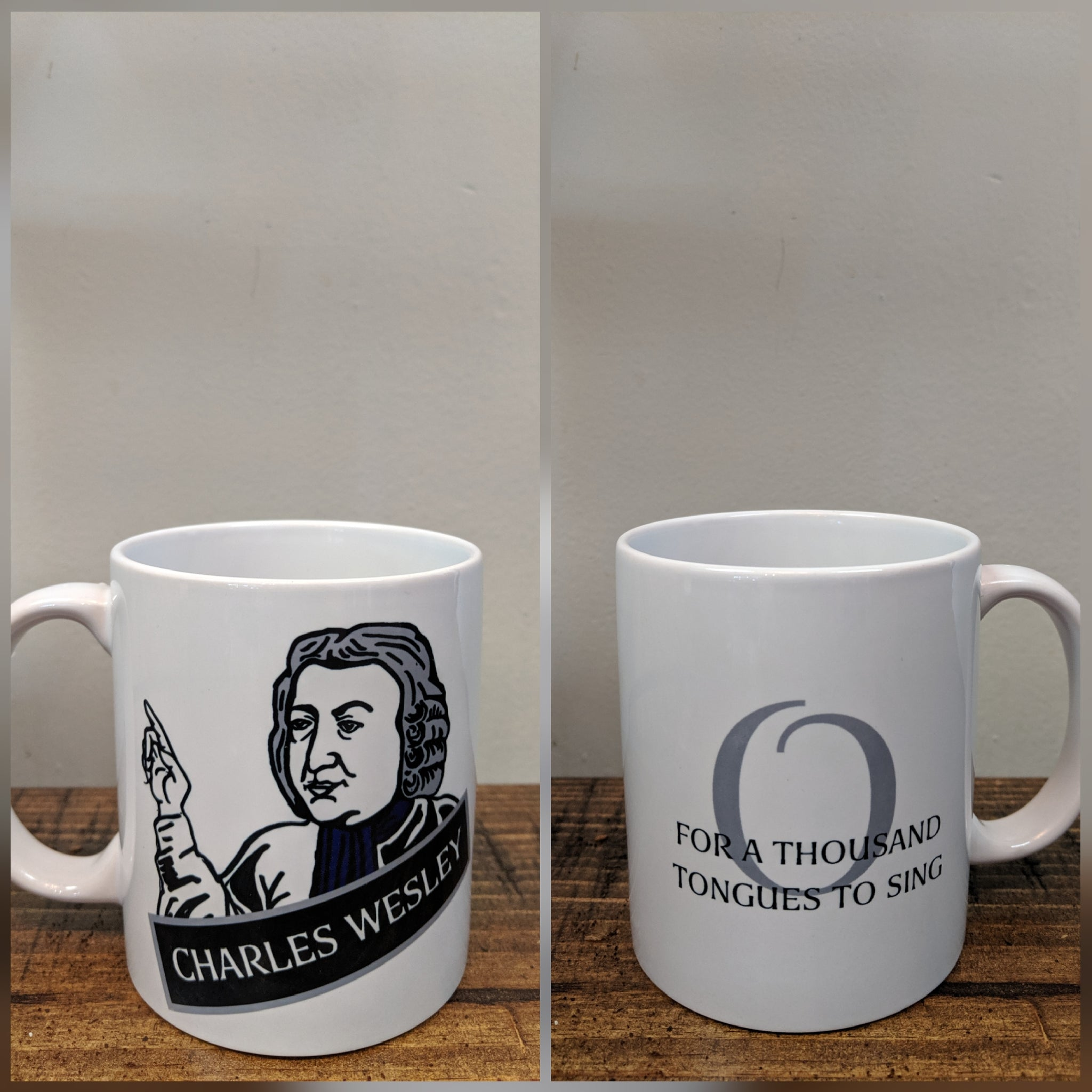 The Charles Wesley Mug - Drinklings