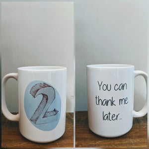 The Enneagram Mug  - Number Two (The Helper) - Drinklings