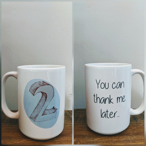 Enneagram Number Two Mug  - The Helper - Drinklings