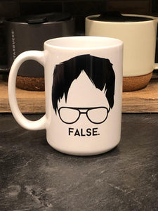 The Dwight Schrute Mug - 15 oz - Drinklings