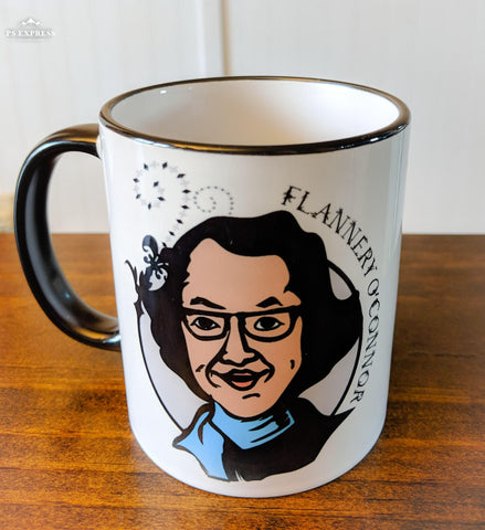 Flannery O'Connor Mug - Drinklings