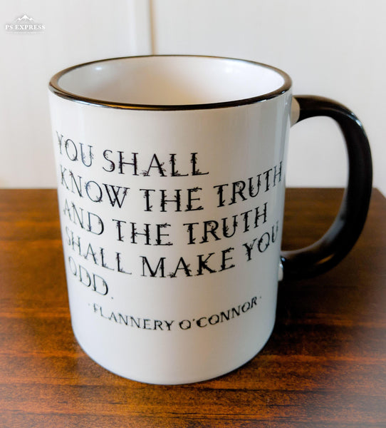 The Flannery O'Connor Mug - Drinklings