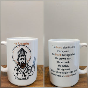The Augustine Beard Quote Mug