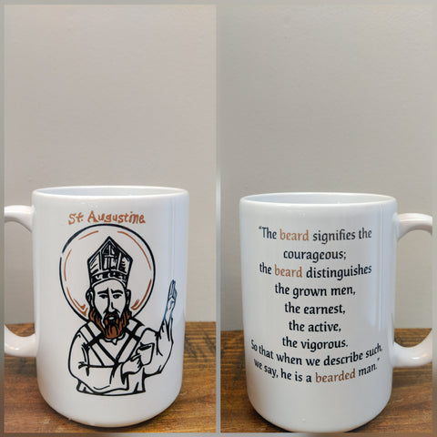 The Augustine Beard Quote Mug - Drinklings