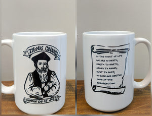The Thomas Cranmer Mug