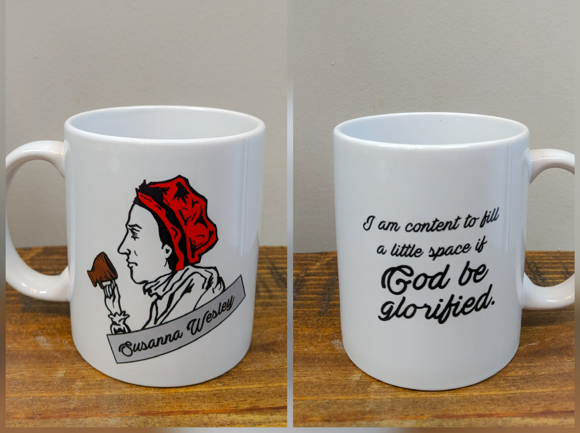 The Susanna Wesley Mug - Drinklings