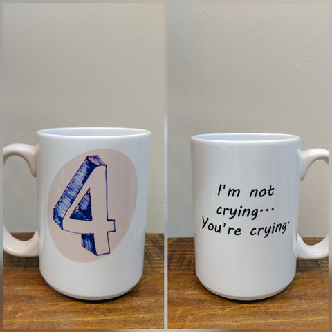 Enneagram Number Four Mug  - The Individualist/Romantic - Drinklings