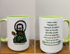 The Saint Patrick Prayer Mug - I Arise Today