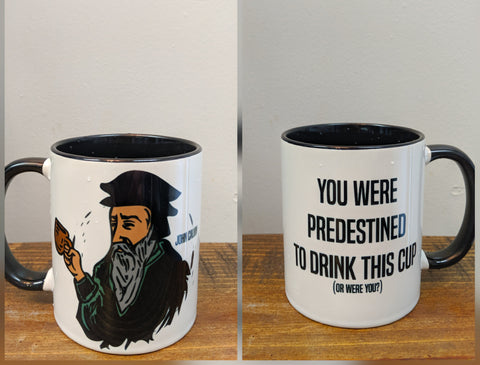 The John Calvin Mug - Drinklings