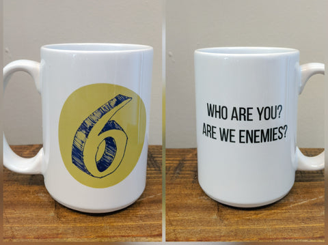 Enneagram Mug - Number Six (The Loyalist) - Drinklings
