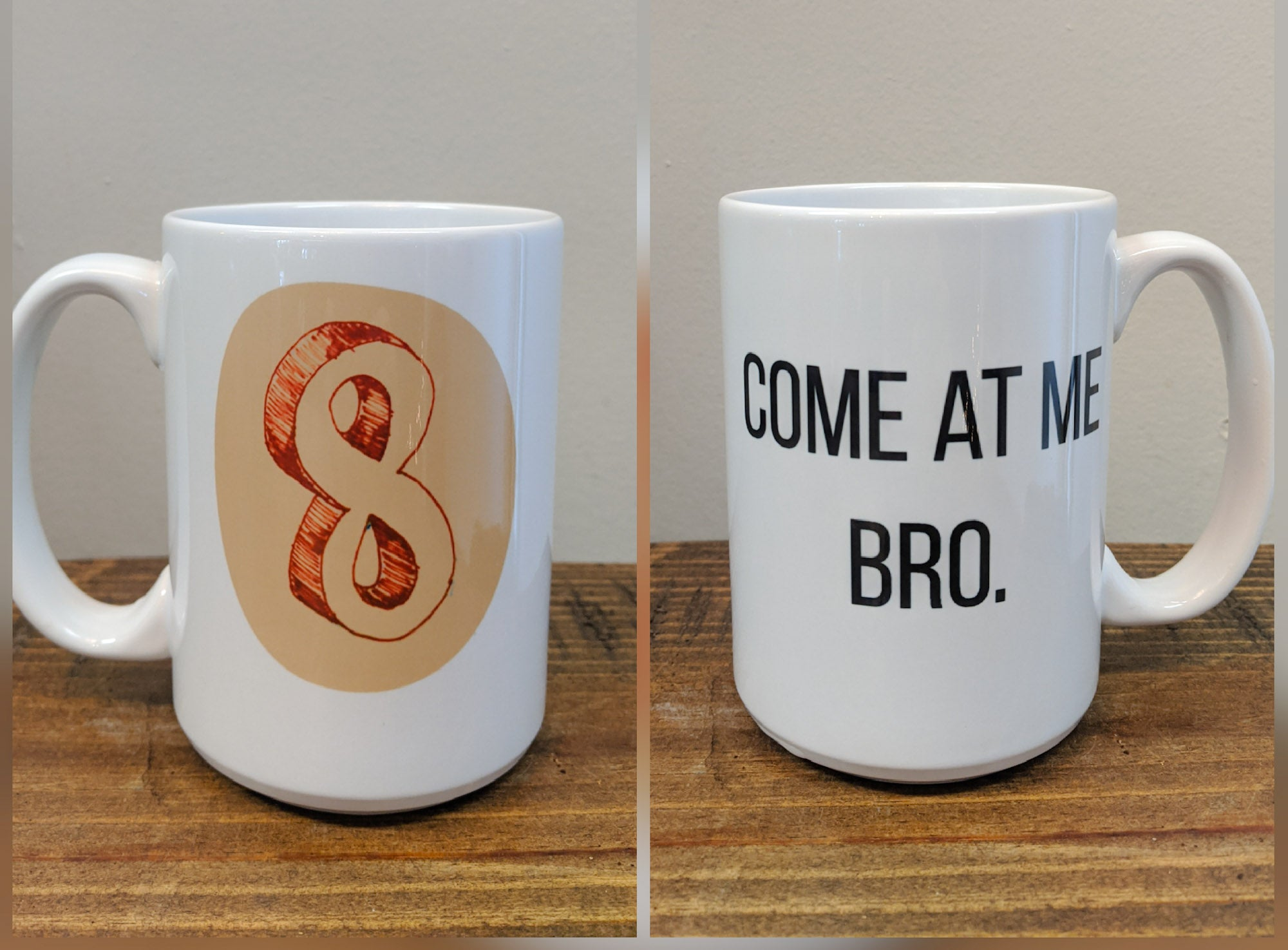 Enneagram Mug - Number Eight (The Challenger) - Drinklings