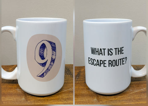 The Enneagram Mug - Number Nine (The Peacemaker) - Drinklings