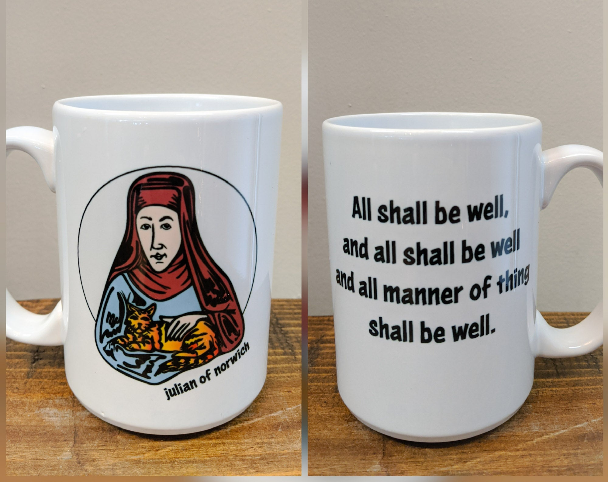 The Julian of Norwich Mug - Drinklings