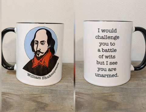 The William Shakespeare Mug - Drinklings