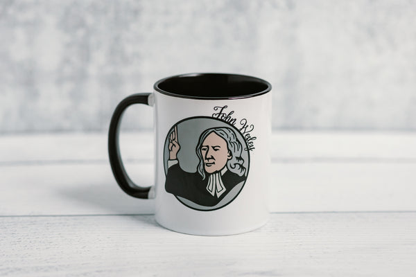 The John Wesley Mug - Drink All the Coffee You Can