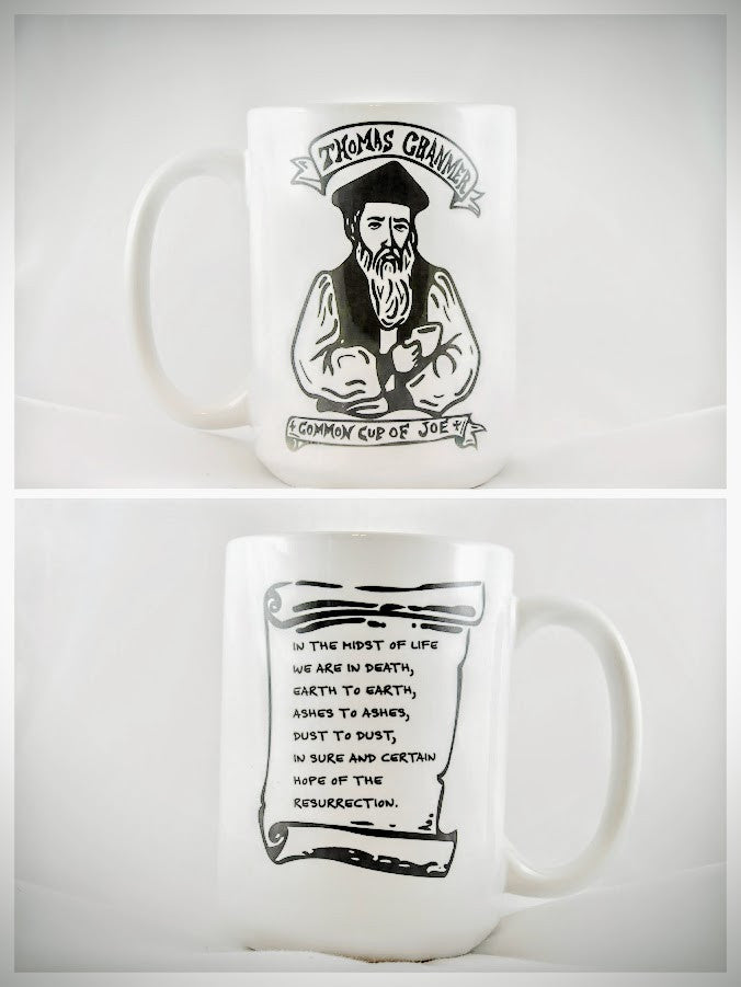 Thomas Cranmer Mug - Drinklings