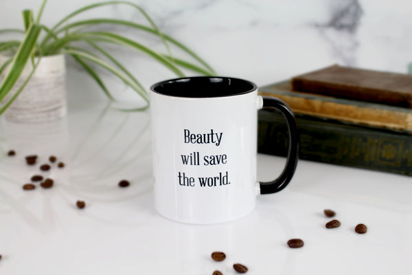 The Fyodor Dostoevsky Mug - Beauty Will Save the World