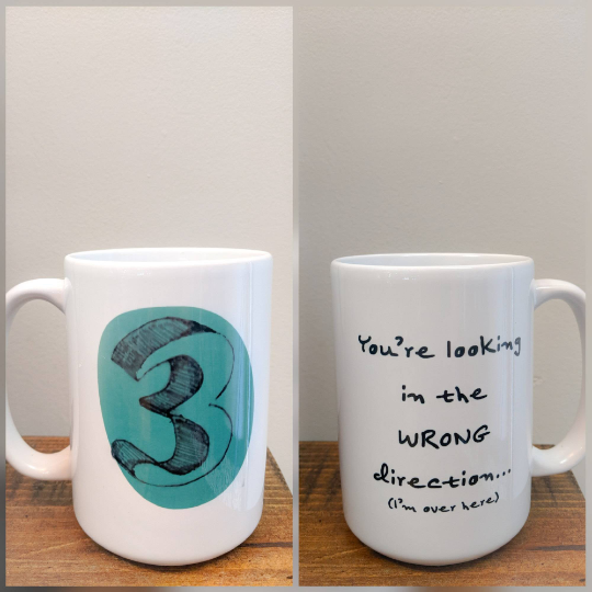 Enneagram Number Three Mug  - The Performer - Drinklings