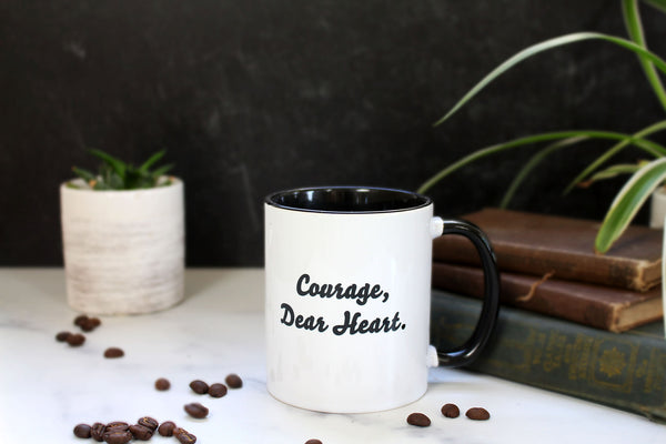 C.S. Lewis - Courage Dear Heart Mug