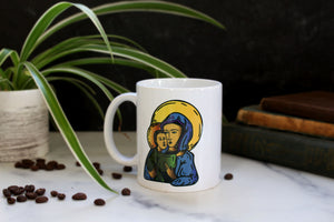 The Mary and Jesus Icon Mug