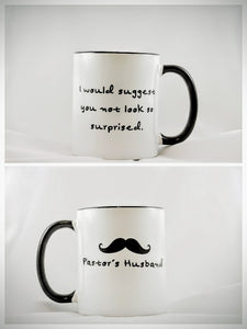 The Pastor's Husband Mug - Drinklings