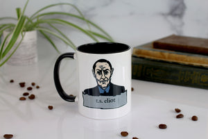 The T.S. Eliot Mug - I Have Measured Out My Life with Coffee Spoons